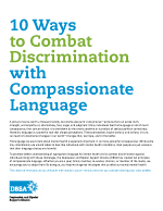 10 Ways to Combat Discrimination with Compassionate Language
