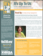 It's Up To Us - Susan Gregg-Schroeder Interview
