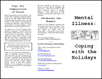 Mental Illness: Coping with the Holidays Brochure
