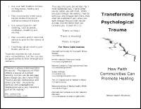 Transforming Psychological Trauma