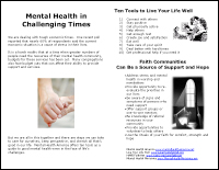 Mental Health in Challenging Times