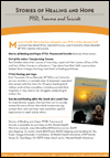 Stories of Healing and Hope: PTSD, Trauma and Suicide flyer