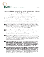 Inmi Support Group Guidelines