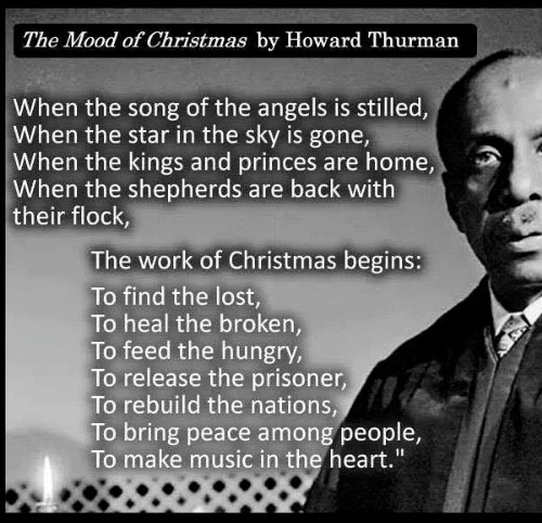 The Mood of Christmas by Howard Thurman